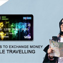 Exchange money while travelling through WSFx smart currency card