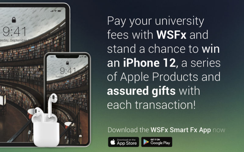 Pay your University Fees with WSFx